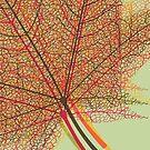 Autumn Leaf by Van Nhan Ngo