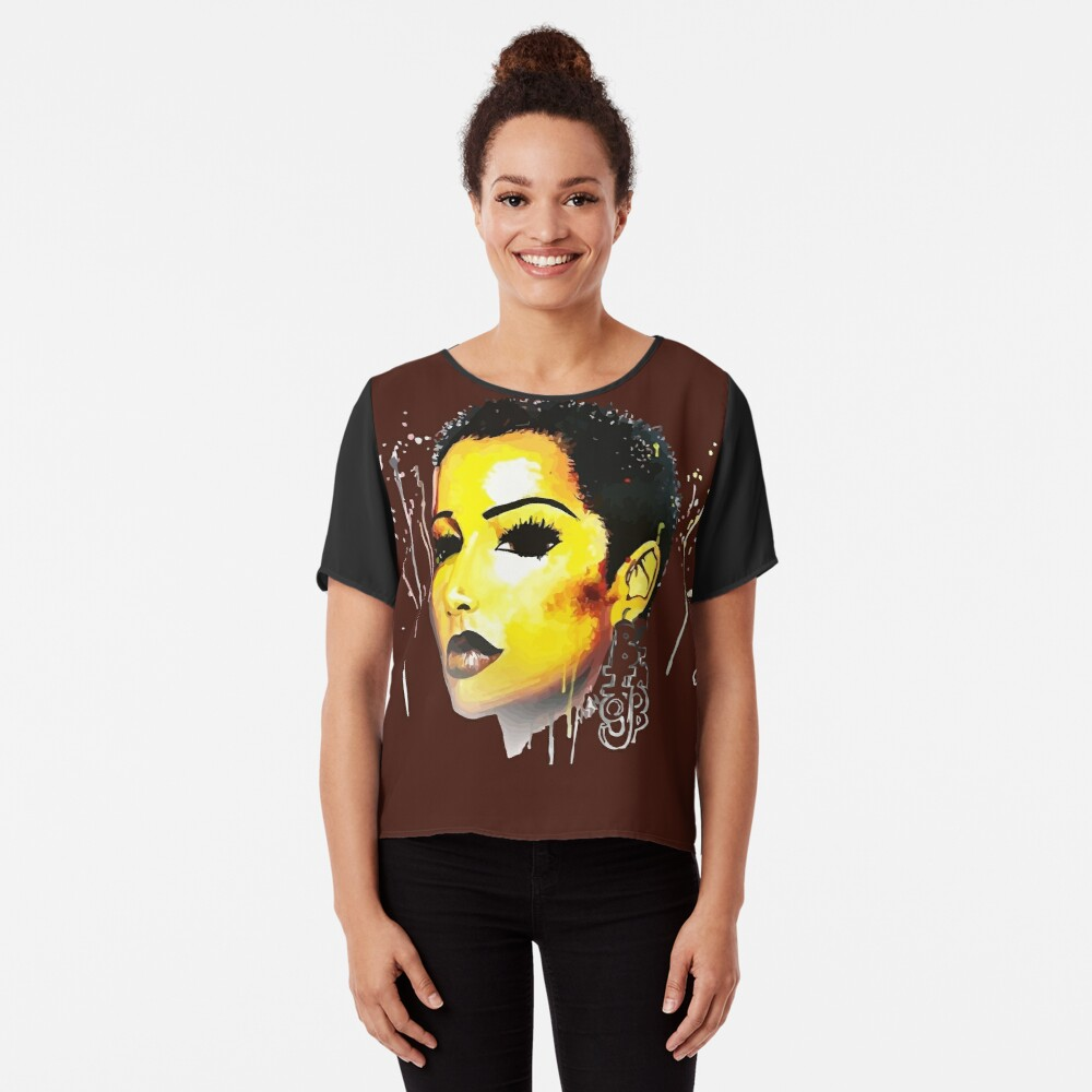 BIG Chop Journey Tshirt Afro Hair Natural Hair Chiffon Top
