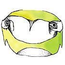 Lime owl  by annieclayton