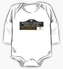 Welcome to Monmouth One Piece - Long Sleeve