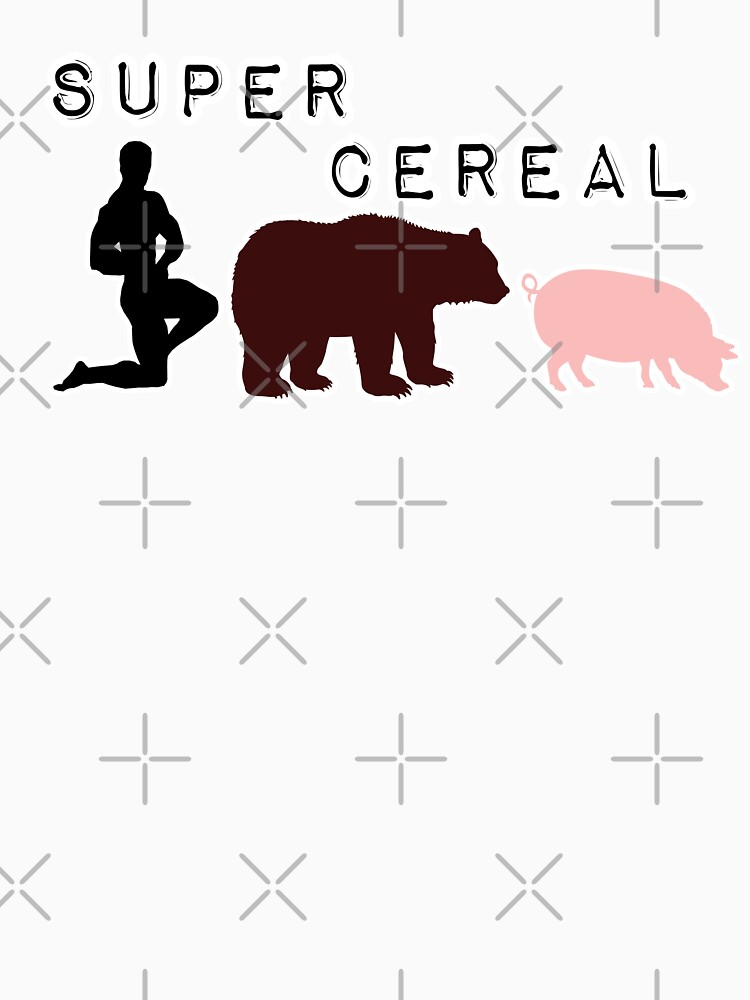 Quot Man Bear Pig Graphic Pictures It Is Super Cereal