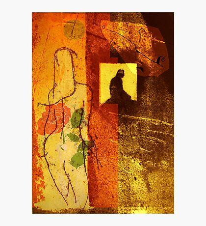 the window Photographic Print