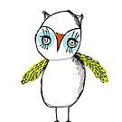 Ditzy owl by annieclayton