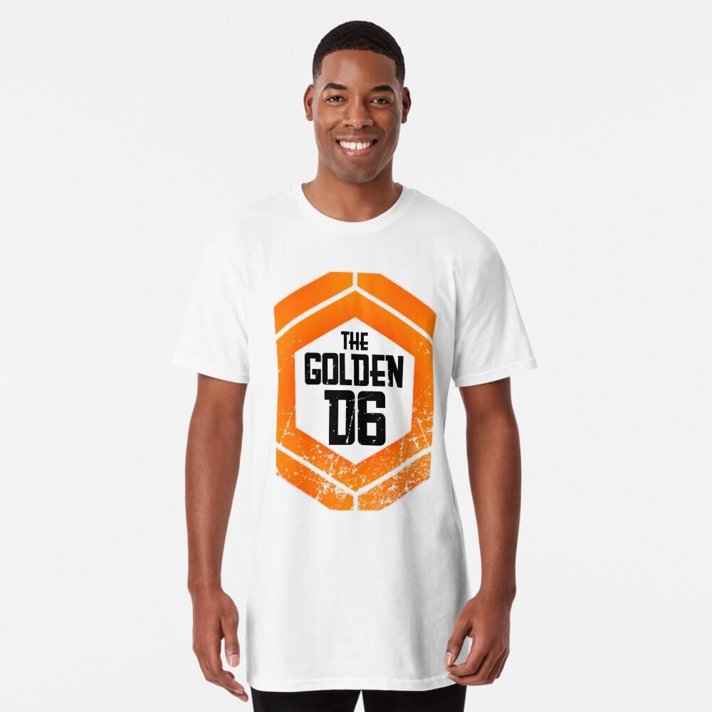 The official Golden D6 merchandise shop Long T-Shirt Front