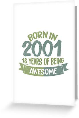 Jahrgang 2001 von 0815-Shirts