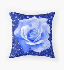 Only When the Moon Is Blue... Throw Pillow