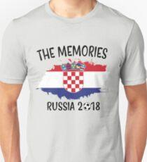 CROATIA WORLD CUP RUSSIA 2018 Unisex T-Shirt
