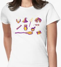 Purple Variety Women's Fitted T-Shirt