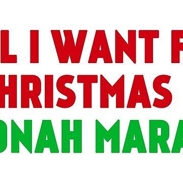 All I Want for Christmas Is Jonah Marais by amandamedeiros