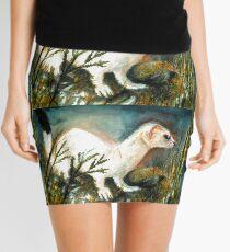 Winter Stoat Mini Skirt
