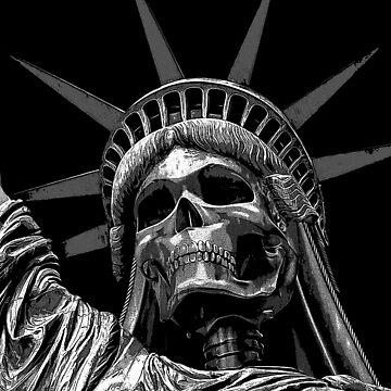 Liberty or Death B&W by GrandeDuc