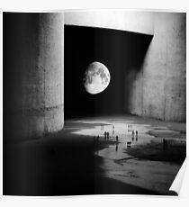 Zum Mond Poster