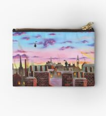 Mary Poppins and Bert  Studio Pouch