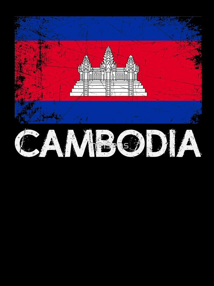 YELTY6F Cambodia Flag Printed Newborn Baby Boy Girl One-Piece Suit Long Sleeve Pajamas Black