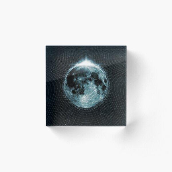 Mond Acrylblock