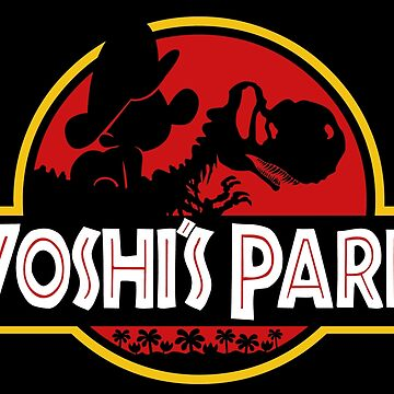 Yoshi's Park with baby Mario by marianah