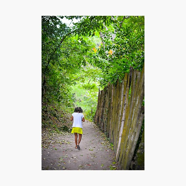 Growing up in Jamaica  Photographic Print