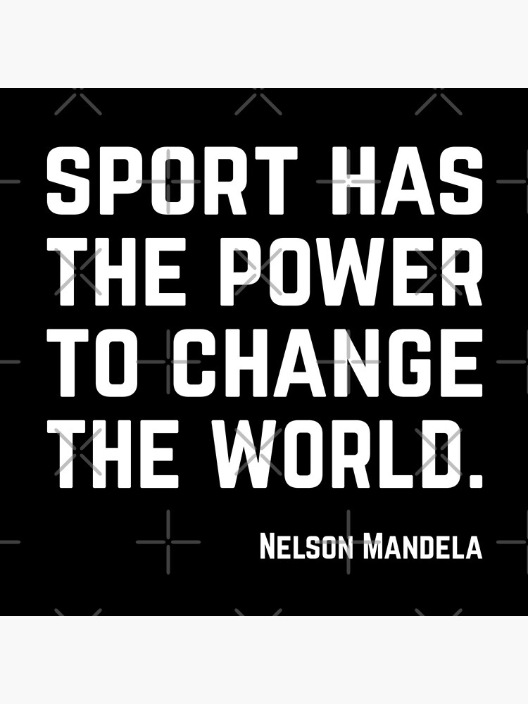 Sport has the power to change the world. by PlantVictorious