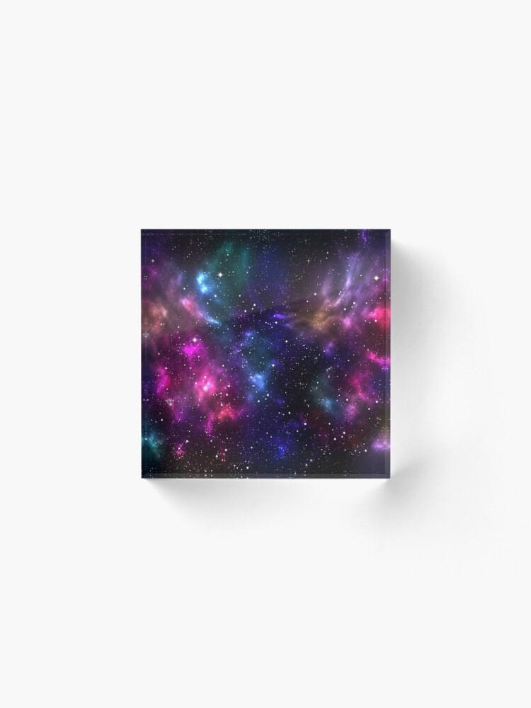 Alternate view of Stardust Acrylic Block