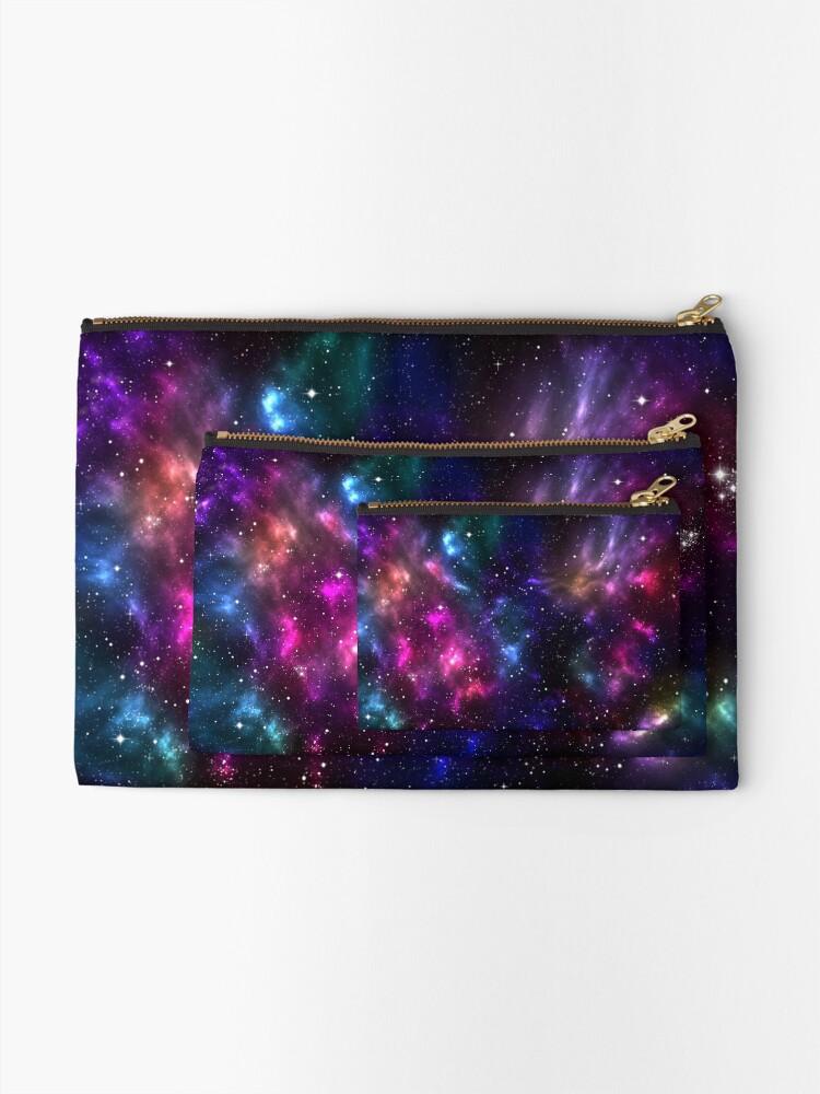 Alternate view of Stardust Zipper Pouch