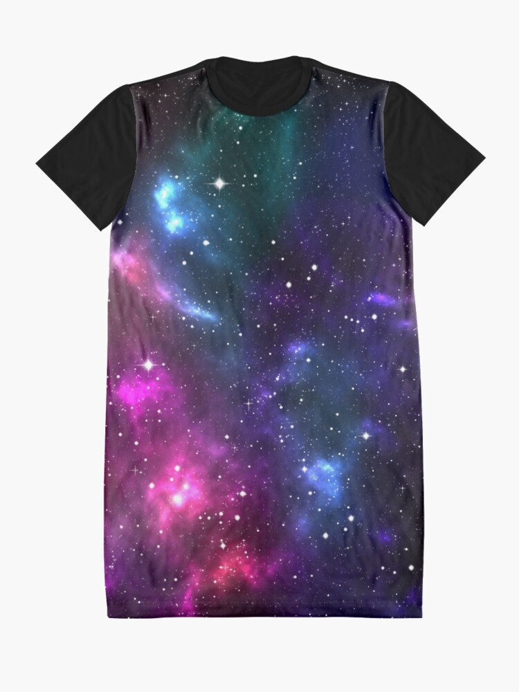 Alternate view of Stardust Graphic T-Shirt Dress