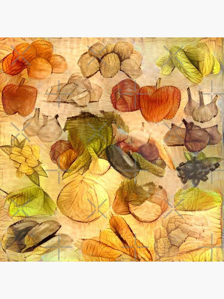 RETRO VEGETABLES 1950s ARTWORK PERFECT FOR AN ITALIAN KITCHEN OR A CHIC CAFE   by Artistree