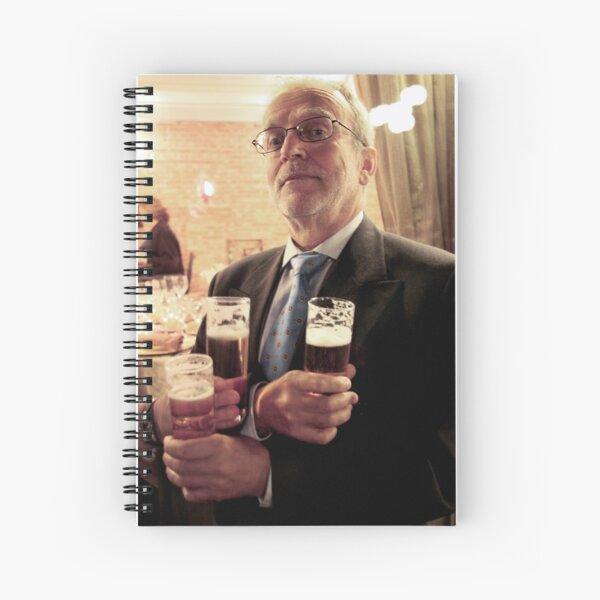 3 Beers Bob Spiral Notebook