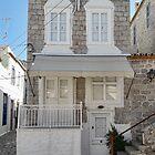 Door and white windows by Roberta Angiolani