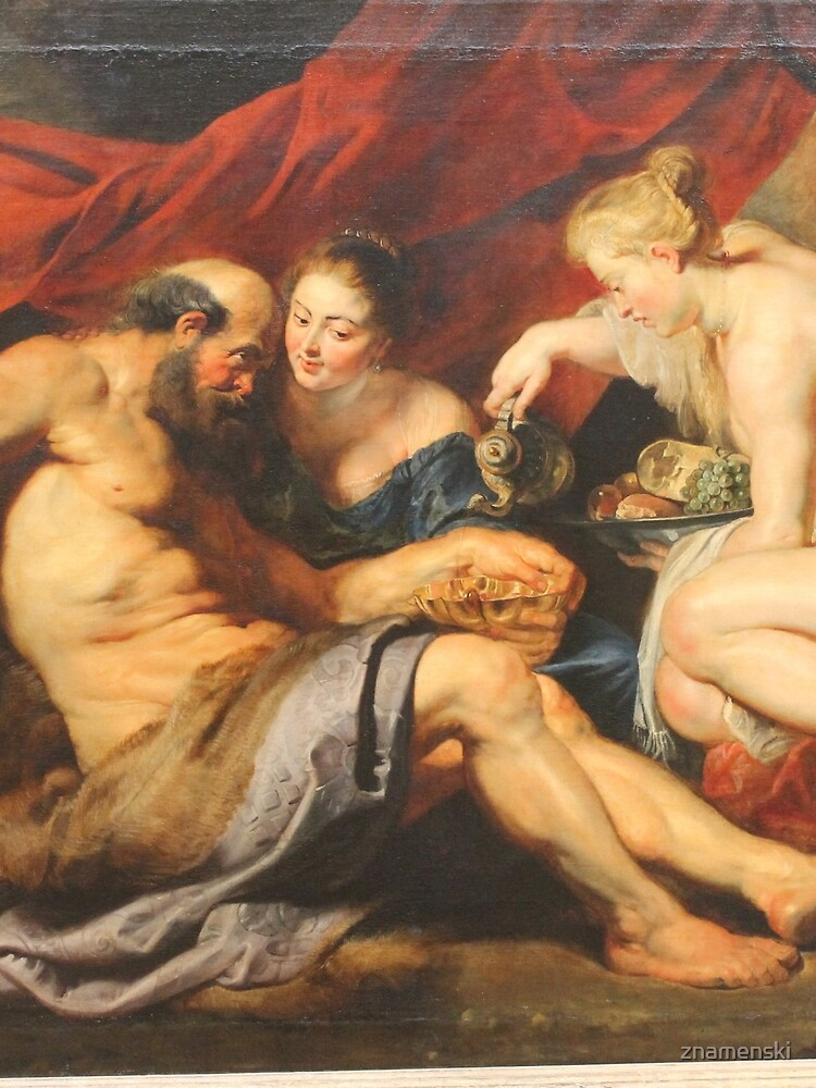 Rubens's Lot and His Daughters - Metropolitan Museum of Art #painting #renaissance #art #people #adult #kneeling #reclining #aura #allegory #god #realpeople #horizontal #naked #painter #artist by znamenski