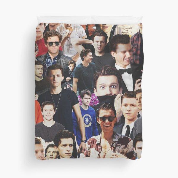 Tom Holland collage Duvet Cover