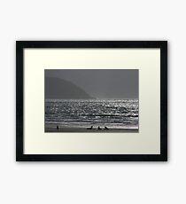 Bounding Main Framed Print