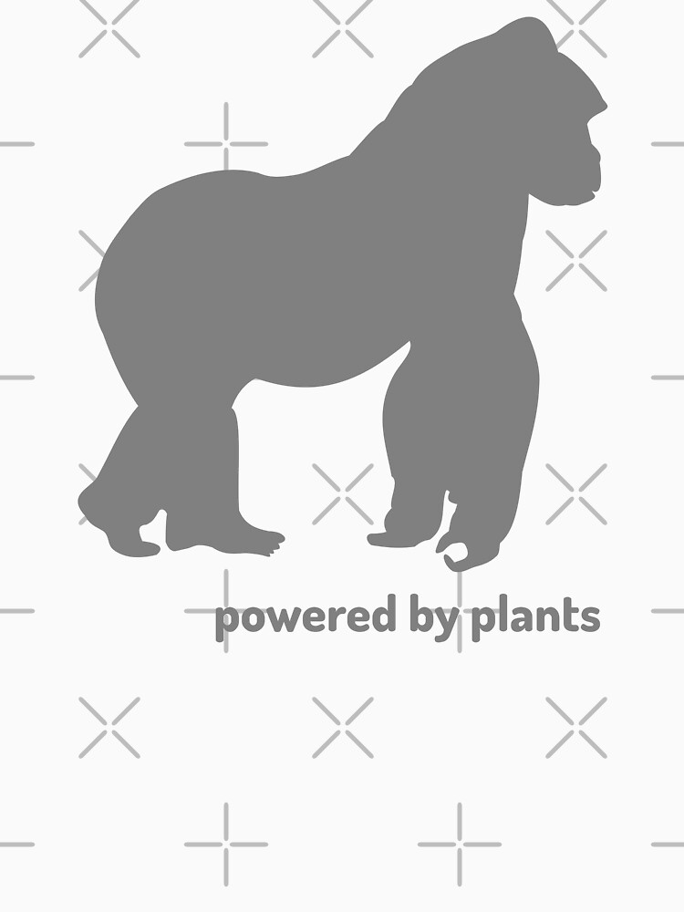 powered by plants - gorilla by PlantVictorious