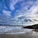 Stormy Skies At Lyme Regis by Susie Peek
