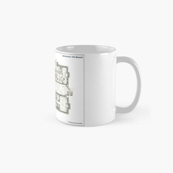 Abandoned Tavern Cartographic Art Classic Mug
