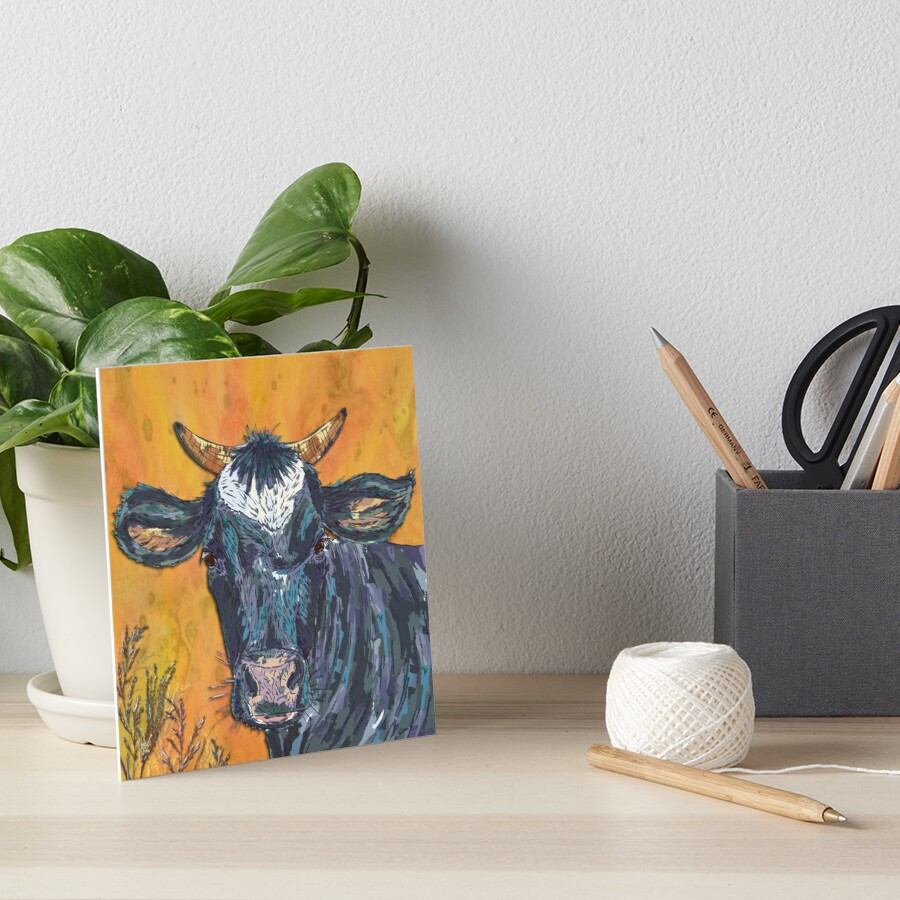 The Cow's Nose Art Board Print