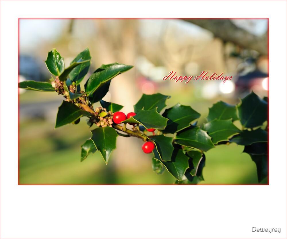 holiday card by Deweyreg