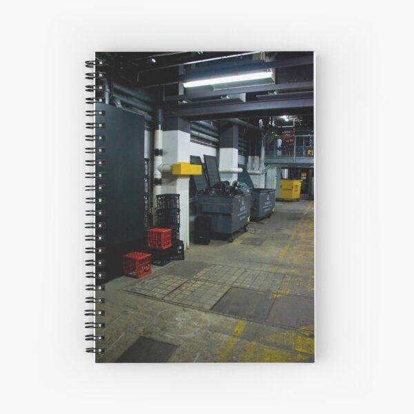 Into The Meat Grinder Spiral Notebook