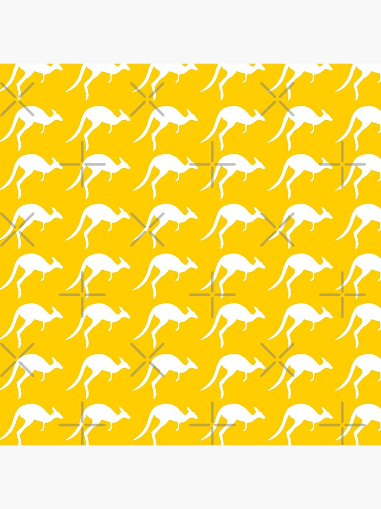 kangaroo pattern by PlantVictorious