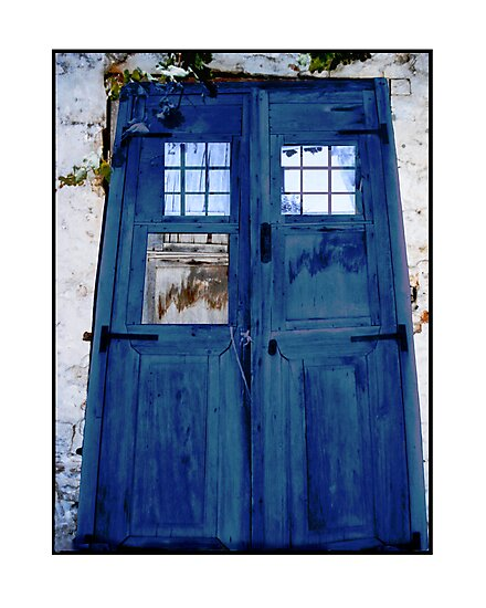 Tardis shed by MarkYoung