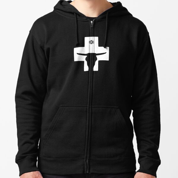 Cult of The Dead Cow Zipped Hoodie