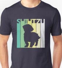 Cute Shih Tzu Silhouette Unisex T-Shirt
