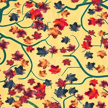 Maple Leaves by RoxanneG