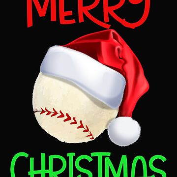 Funny Baseball Player Christmas Gift by SL-Creative