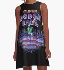 Super Ball Dodge A-Line Dress