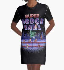 Super Ball Dodge Graphic T-Shirt Dress
