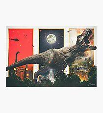 """""""Wir haben einen T-Rex"""" - Neemz Movie Poster Fotodruck"""