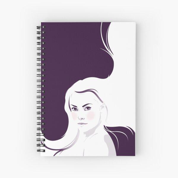 Bad Passion (White Version) Spiral Notebook
