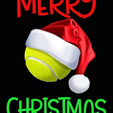 Funny Tennis Player Christmas Gift by SL-Creative