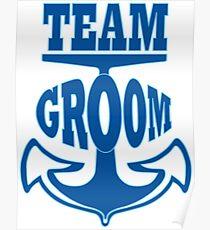 Team groom Poster