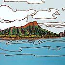 Diamond Head, Hawai'i by RedPine